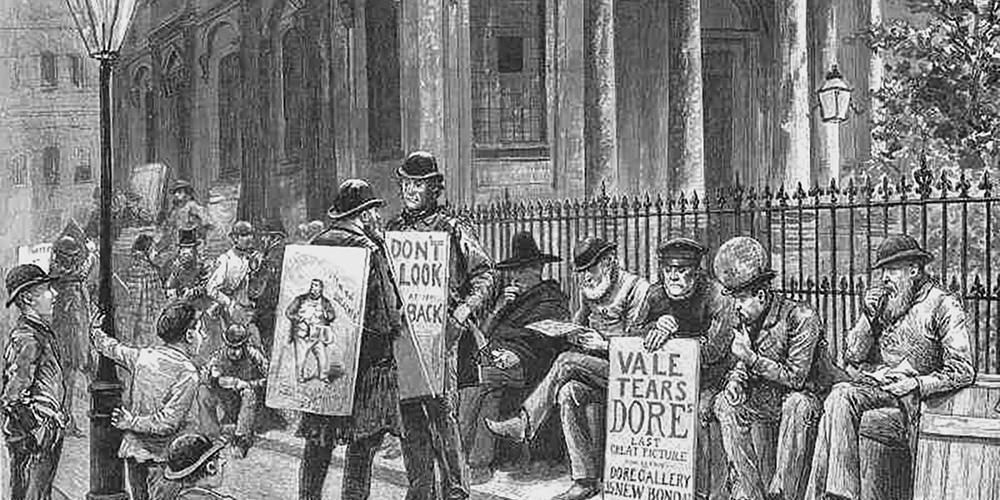 Manifestare: all'origine del manifesto pubblicitario