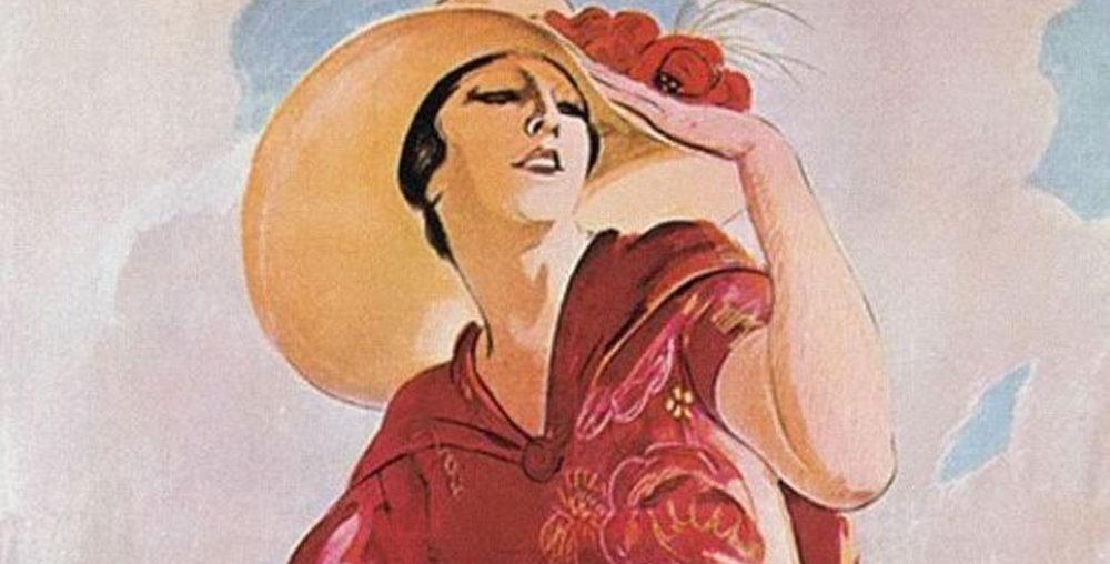 I manifesti di Dudovich per la moda e per Rimini