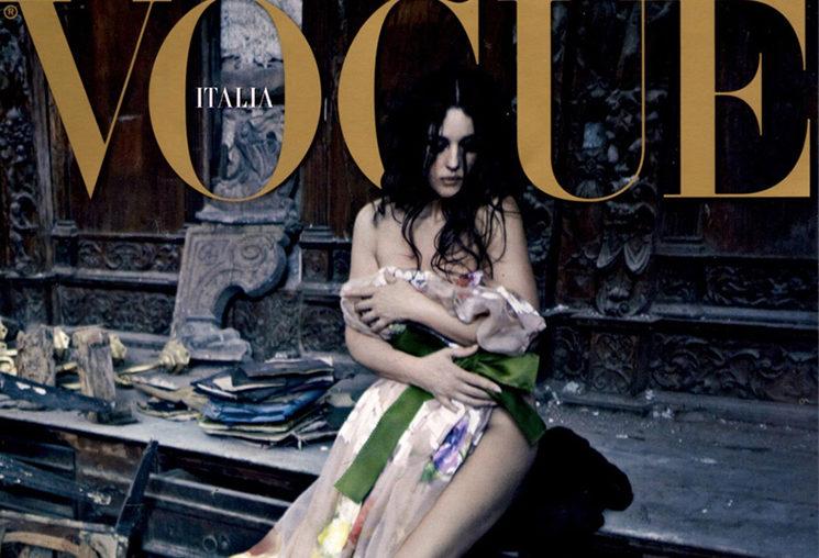 Gli stilisti Dolce&Gabbana puntano sulla stampa